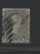 CANADA 21/30 Used group LARGE QUEENS half cent to fifteen cent fine or better