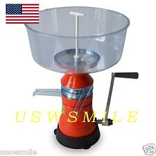 MILK CREAM SEPARATOR 80L/h MANUAL  Metal/Plastic Model # 07. FREE USA SHIPPING