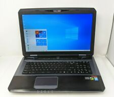 """CYBERPOWER Fangbook MSI GT70 Laptop i7-4700MQ 2.40GHz 16GB 17.3"""" 750GB HDD Used"""