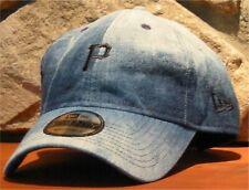 Pittsburgh Pirates MLB Denim Wash Slouch Adjustable Baseball Ball Cap Dad HAT