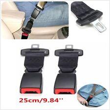 "9.84"" Car Seat Seatbelt Safety Extender Belt Extension 7/8"" BUCKLE"