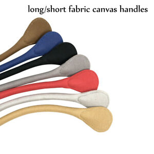 New Long Short Solid color Canvas Fabric Handle for Obag Classic Mini