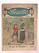 LISETTE 1924.COUVERTURE DE P. DMITRON N°231  A QUI LA POUPEE ? .BE