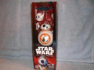 "BB-8 w/ accessories 12"" Hero Series Star Wars The Force Awakens Disney Hasbro"