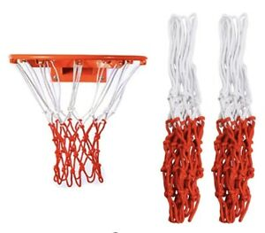 2Pack Heavy Duty Basketball Net for all weather - Fits Indoor or Outdoor Rims