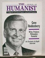Star Trek Gene Roddenberry Lost Interview (24 Pages)- 1991 THE HUMANIST Magazine