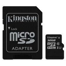 KINGSTON MICRO SDHC C10 32GB 32G 32 G CLASS 10 UHS-I U1 MICRO SD HC MEMORY CARD