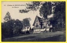 cpa 95 - MONTLIGNON (Val d'Oise) Le MANOIR du CHÂTEAU Parc