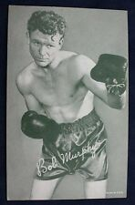 Bob Murphy Boxing Exhibit Card BC10