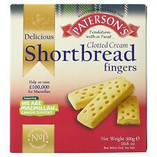 Paterson's Clotted Cream Shortbread 300g