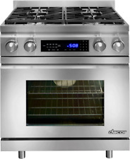 Dacor Distinctive Dr30Dih-C/Ng 30 In Pro-Style Slide Dual-Fuel Range Stainless