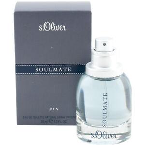 S.Oliver Soulmate Hommes 30ml Eau de Toilette Spray Pour Homme Top