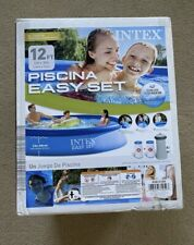 New listing Brand New Intex 12 Ft X 30 In Easy Set Above Ground Pool With Filter Pump 12x30