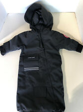 CANADA GOOSE BABY SNOW SACK BLACK 3-6 MONTH