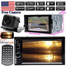 For Hyundai 2006-2012 2Din Car Stereo Radio CD DVD Headunit Player & View Camera