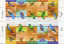 More details for israel birds on stamps 2019 mnh kingfishers bee-eaters rollers 10v m/s