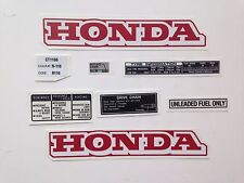 Aftermarket Sticker Decal Kit for Honda Ct110 Postie Bikes