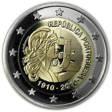 Portugal 2 Euro 2010 PP 100 Jahre Republik in CoinCard