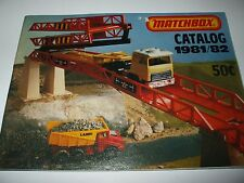 Matchbox Lesney 1981-82 USA Edition Collector's Catalogue NMINT!