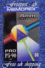 A Memorex Pro P5-90 Alto Grado 8mm & Hi8 Videocamera Nastro/Cassette
