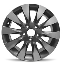 16 Inch Aluminum Alloy Wheel Rim Fits 2009-2011 Honda Civic 5 Lug 114.3mm 16x6.5
