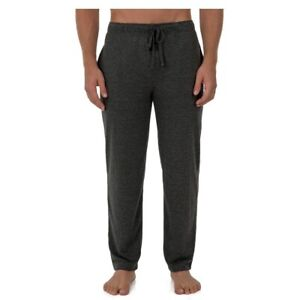 2XL Mens Fruit of the Loom Breathable Mesh Knit Sleep Pant Open Leg Pajamas NWT