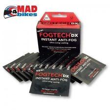 FogTech DX Anti-Fog solution for motorcycle visors & motocross goggles 25 PACK