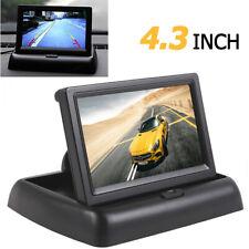 "4.3"" LCD Color Screen Flodable Car Rear View Monitor DVD GPS Car Backup Camera"