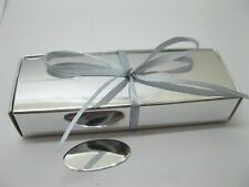 100 Chocolate Bomboniere Gift Box DIY Wedding Favour Silver