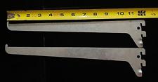 Glass Display Case Heavy Duty Shelving Fixtures / Brackets Glass 12.25 Length