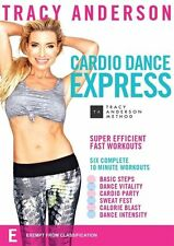 Tracy Anderson Cardio Dance Express - 6x10 minutes workout NEW R4 DVD