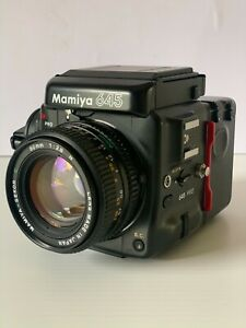 Mamiya 645 Pro Body + Sekor C 80mm f2.8 N Lens + Waist Level Finder + Film Back