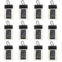12er Set Wasserdichte Smartphone Handy Schutzhülle | Brustbeutel Umhängebeutel