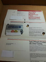 Citibank Master Card Expired Card 84 Issue Date Original Mailer Unsigned