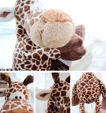 "14"" Coffee deer giraffe Stuffed Animals soft toys plush doll Toys kids Xmas gift"
