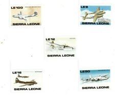 VINTAGE CLASSICS - Sierra Leone 1172-81 World War II - Set Of 5 - MNH