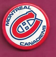 RARE VINTAGE MONTREAL CANADIENS  PINBACK  (INV# C4481)