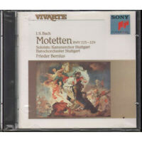 J.S. Bach / Frieder Bernius CD Motetten BWV 225 229 Sony Classical SK 45859 Sig