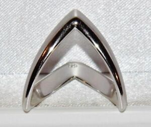 925 Sterling Silver Double Wishbone Ring - All Sizes