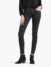 "Lucky Brand Jeans Mid Rise LOLITA CAPRI AZTEC (Size 00/24) 27"" Inseam NWT $99"