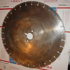 """18"""" Diamond blade extra-wide kerf (1'4"""") for signal wire New USA 1-3/4"""" arbor"""
