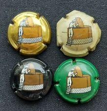 Trés rare & anciennes 4 capsules  CH'TI Benifontaine  année 1990  format 1/4  75