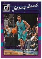 2016-17 Donruss Basketball Press Proof Purple /199 #47 Jeremy Lamb Hornets