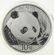 2018 China 1 Troy Oz .999 Fine Silver Chinese Panda Uncirculated *791