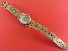 "Vintage "" Barbi "" Girls Wrist Watch With Original Band"