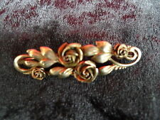 beautiful ,antique Brooch_Roses _800 silver_