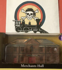 Bachmann 35007 HO Scale Merchants Hall False Front Resin Building