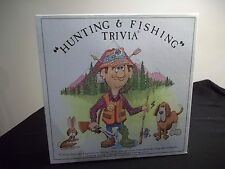 Vintage 1985 Hunting & Fishing Camping Trivia Board Game played once