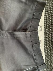 Dickies O-Dog Hose/Workpant 874 Schwarz/Black Carhartt Original Fit 34x30