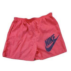Vintage Nike Swim Trunks Sz XL Running Shorts Bathing Suit Drawstring